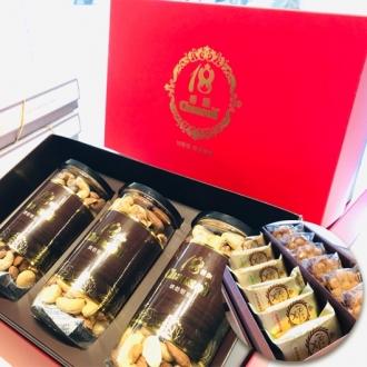 18香頌滴雞精+皇家綜合堅果